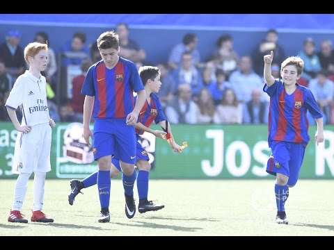 HIGHLIGHTS LALIGA PROMISES: FC Barcelona Infantil B – Real Madrid 2-0