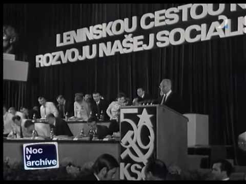 Prejav Gustáva Husáka na 14. zjazde KSČ (1971)