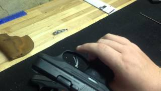 Ruger LC9 v Ruger LC9S disassembly reassembly differences