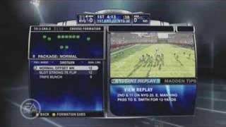 Madden NFL 09: In-Game Action