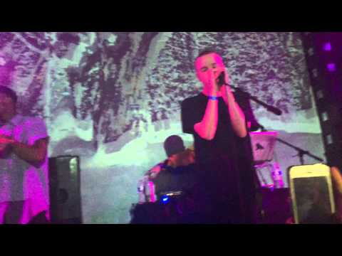 """Spooky Black """"Without U"""" Live at SOB's in NYC"""