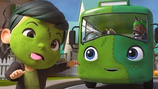 Halloween Wheels On The Bus   Boo Boo Kids Nursery Rhymes & Kids Songs    Little Baby Bum