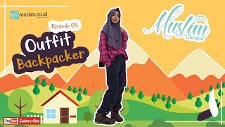 Muslim lifestyle | Outfit Backpacker