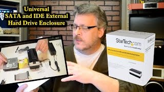 Universal SATA and IDE External Hard Drive Enclosure