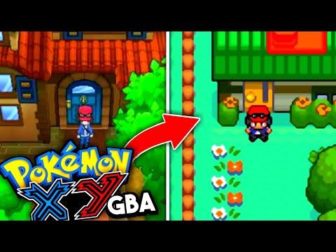 Pokemon XY GBA ROM HACK With KALOS REGION, MEGA EVOLUTION & More! (New Pokemon GBA ROM HACK 2020)