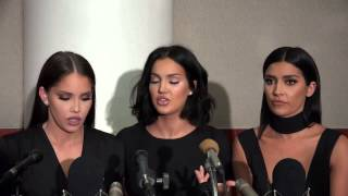 OLIVE PIERSON NICOLE WILLIAMS & NATALIE HALCRO ON  BEING 'WAGS'