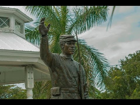 Forgotten Soldier Sculpture Unveiled In Key West. February 16th, 2016