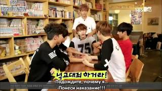 RUS SUB MTV Rookie King  Channel Bangtan Ep  7