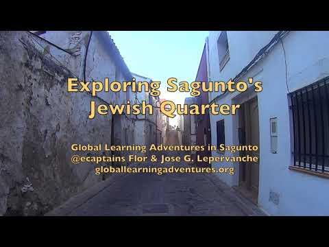 Global Learning Adventures in Sagunto's Jewish Quarter