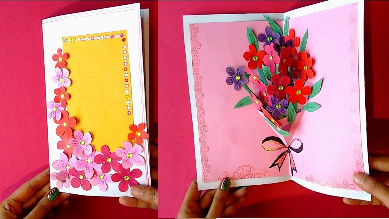 Diy Teachers Day Card Handmade Teachers Day Card 3d Pop Up Card