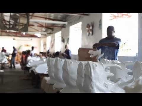 Papier Mache Art From Caribbean Craft And West Elm   West Elm
