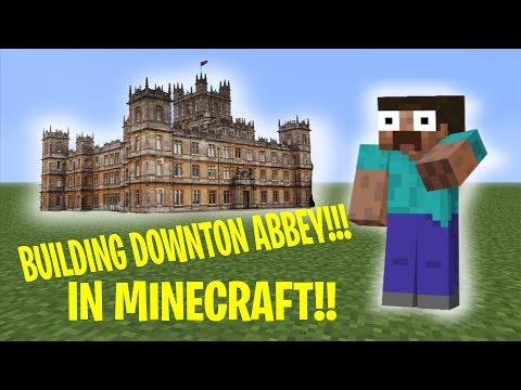 Downton Abbey - Highclere Castle - Minecraft Build
