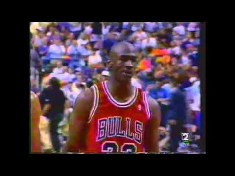 1993 nba finals  Chicago bulls - phoenix Suns