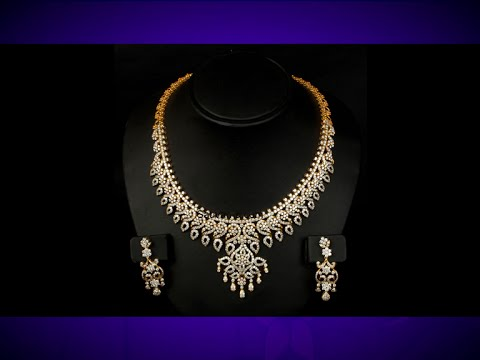 gold jewellery types designs from choker navkar diamond necklace latest uncut catalogue page world