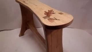 How To Make Stool From Wood Floor Offcuts. Ako Vyrobit Stolcek - Hokerlik