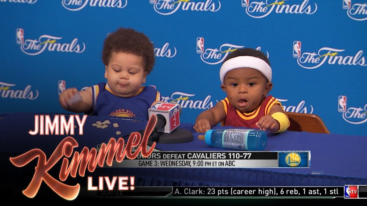 Steph Curry Baby Shoes Jimmy Kimmel