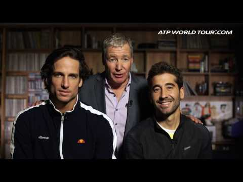 Backstage Pass: Feliciano Lopez And Marc Lopez