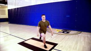 Vertical Core Training: Posterior Lunge & Press