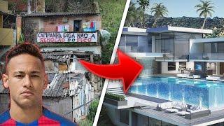 10 Fußballer Häuser | Damals & Jetzt 😱🔥 ft. Messi, Ronaldo, Neymar usw.