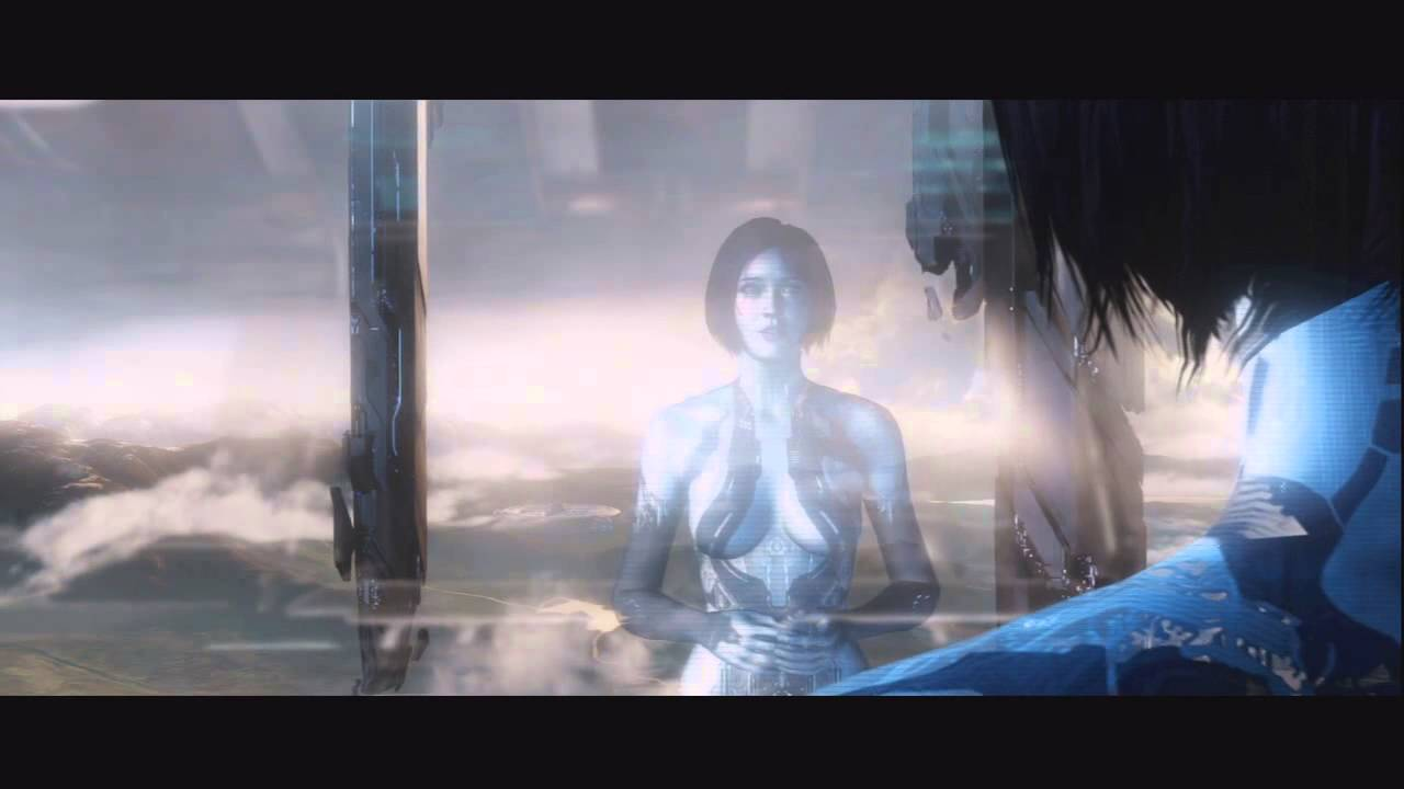 Halo 4: Master chief and Cortana emotional scene