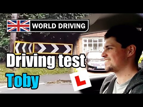 Full UK driving test (Toby's test) - Driving lessons
