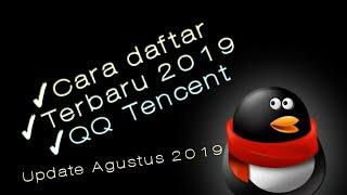 Cara daftar/registrasi akun QQ 2019 || update terbaru