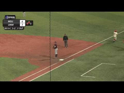 Schilling hustles out an infield RBI single to tie game against Missouri State