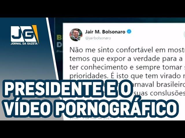 Um dia após vídeo polêmico, Bolsonaro volta ao assunto em redes sociais