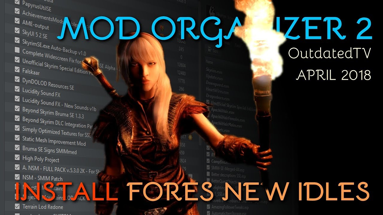 Mod Organizer 2 - FNIS Installation and Configuration Explained for general  use & TUCOGUIDE