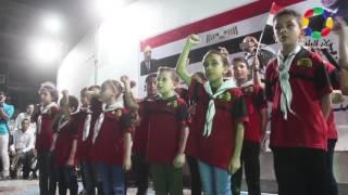 صور وفيديو| بني سويف تحتفل بالذكرى الثالثة لثورة 30 يونيو بميدان الشهداء