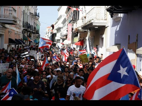 PBS NewsHour: Leaked text messages a 'tipping point' for Puerto Ricans