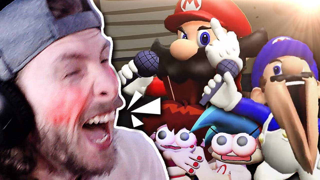 Download VAPOR REACTS TO SMG4 IF MARIO WAS IN FRIDAY NIGHT FUNKIN'!