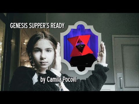 Genesis Supper's Ready cover by 10 years old Camila Pocoví (