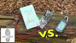 GPS-Navigation: Karte & Kompass vs. GPS-Gerät