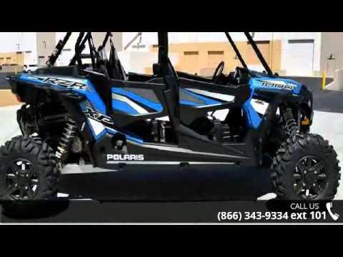 2016 Polaris Rzr Xp 4 1000 Eps Electric Blue Metallic