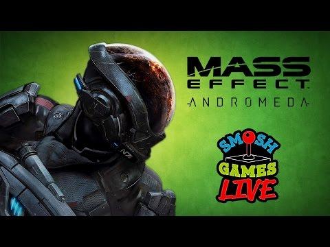 MASS EFFECT: ANDROMEDA LIVE (Smosh Games Live)