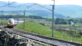 WCML : Scout Green South (Shap) : Virgin Trains 390 northbound