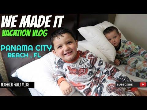 WE MADE IT DAY 1 / Panama City Beach Fl / Family Vlog / Vacation