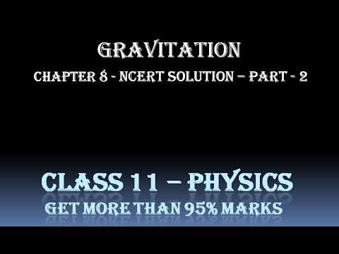 gravitation class 11 numericals ncert - cinemapichollu