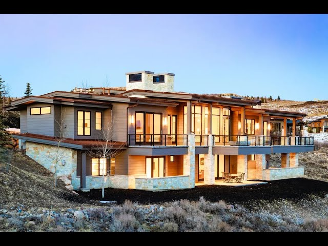 Sophisticated Contemporary Mountain Home in Park City, Utah | Sotheby's International Realty