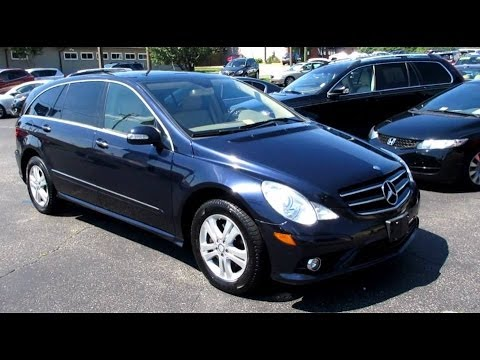 2009 mercedes benz r350 4matic walkaround start up tour for 2009 mercedes benz r350 4matic