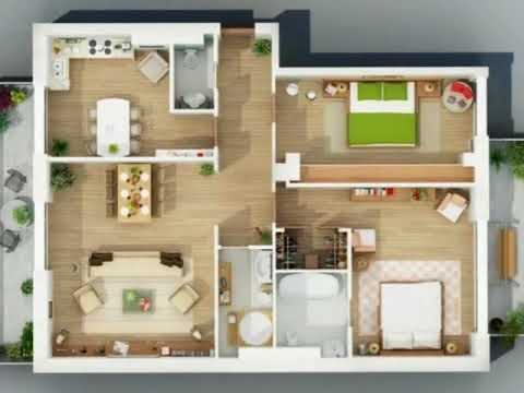 2 bedroom shipping container home with floor plan