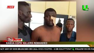 Kasoa cops' killers remanded