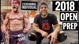 Training like a Crossfit games Regionals Athlete for the Day - Trai...