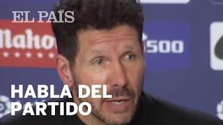 Declaraciones Simeone y Valverde