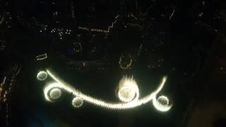 Dubai fountain show from Top of the Burj khalifa : Awesome view _Must watch