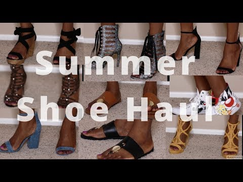 Aldo, Steve Madden, and Fashion Nova Summer Shoe Haul