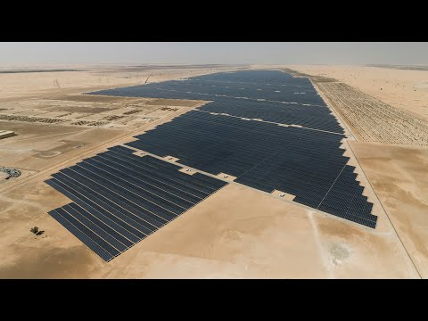 JinkoSolar 1177MW  Abu Dhabi Solar Power Plant