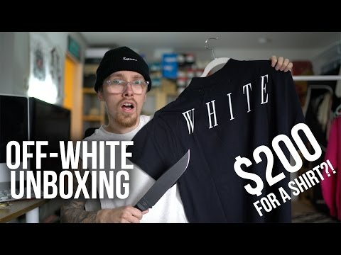 Off-White Unboxing | $200 ON A T-SHIRT?!