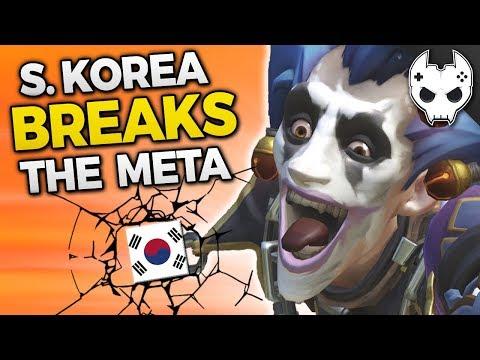 Overwatch SOUTH KOREA BREAKS THE META